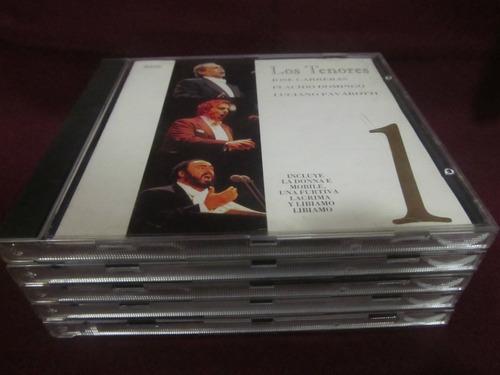 el arcon cd los tenores 5 cd (carreras, pavarotti, domingo)