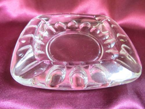 el arcon cenicero de cristal made in france numerado 203