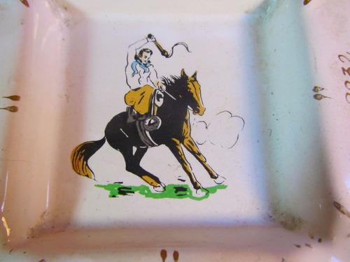 el arcon cenicero de porcelana acem montacargas 11,5cm 52512