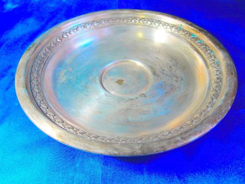 el arcon centro de mesa bandeja de plata lappas 23cm 16050