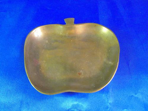 el arcon centro de mesa despojador bronce de manzana 14065