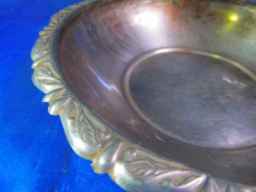 el arcon centro de mesa sopera metal labrada 30057