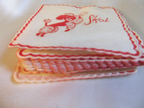el arcon coleccion de posavasos de papel de arroz skol 709