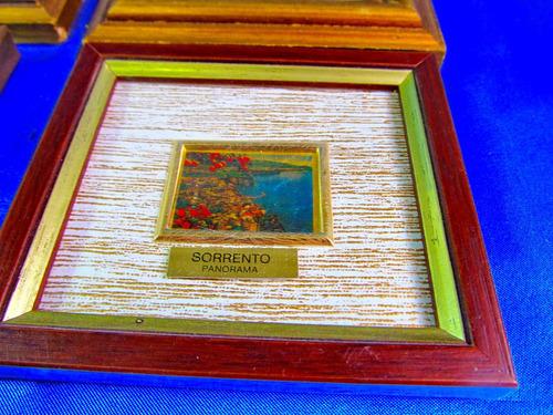 el arcon cuadro cromolitografia oro 23 kt made in italy 126