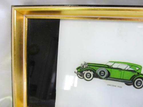 el arcon cuadro marco dorado a la hoja uso bandeja 902