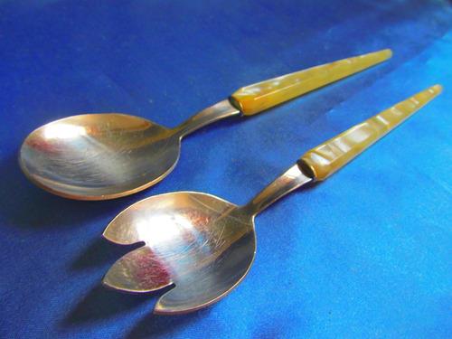 el arcon cucharas de servir mango de nacarado 25cm  6507