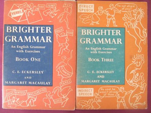 el arcon curso de ingles - brighter grammar - tomos 1 y 3