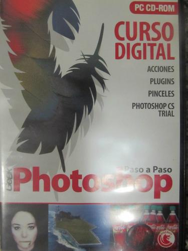 el arcon curso digital de photoshop paso a paso en cd-rom.
