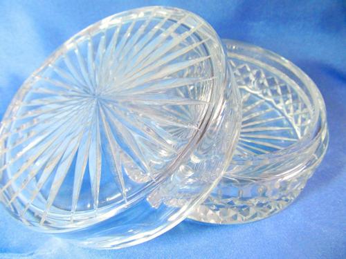 el arcon divina caramelera de vidrio prensado de 13 cm 832