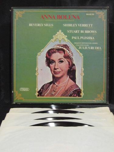 el arcon donizetti opera anna bolena box set 4 lp