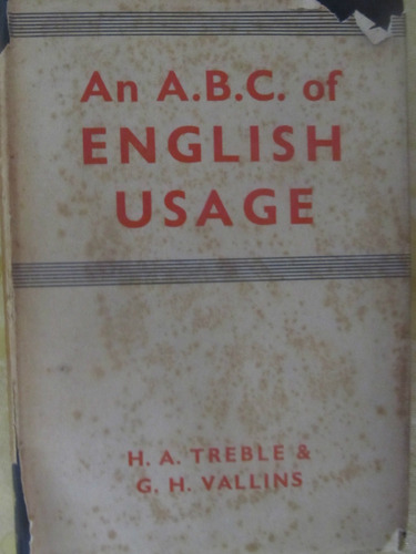 el arcon el a.b.c. del uso del inglés