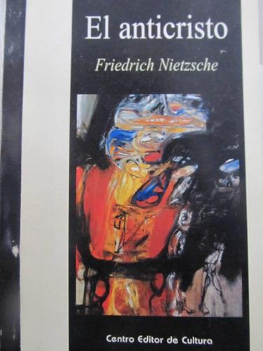 el arcon el anticristo por friedrich nietzsche