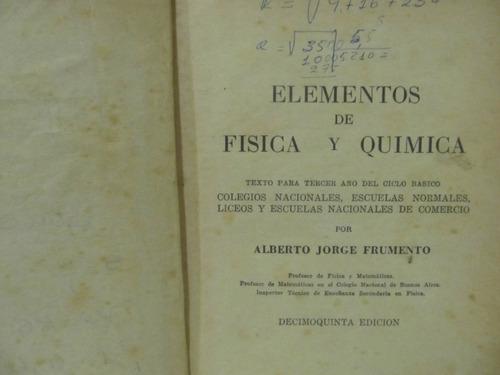 el arcon elementos de fisica y quimica