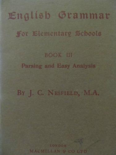 el arcon english grammar for elementary school book iii