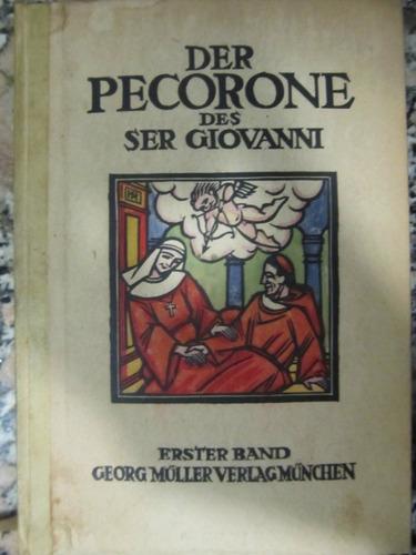 el arcon erotico aleman der pecorone des ser giovanni 1921
