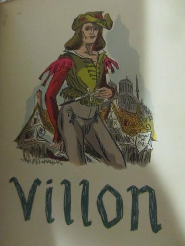 el arcon erotico frances francois villon obras completas