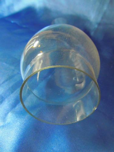 el arcon fanal de cristal transparente 23cm 13052