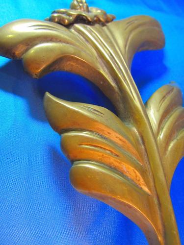 el arcon figura de bronce de una flor 26,5cm 47054