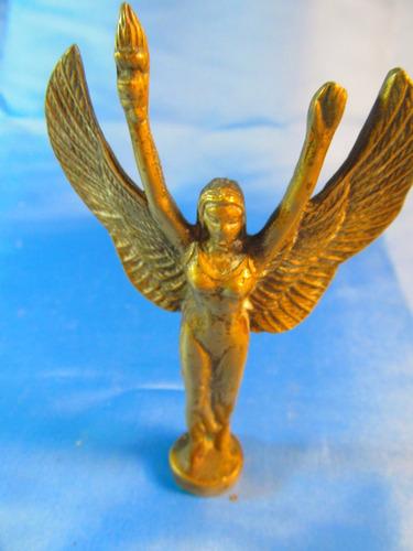 el arcon figura de bronce mujer con antorcha y alas 44066