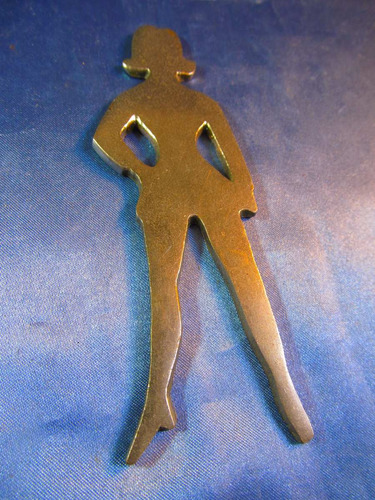 el arcon figura de bronce para baño mujer dama 13,3cm 41069