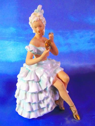 el arcon figura de porcelana art deco w & a  bailarina 5108