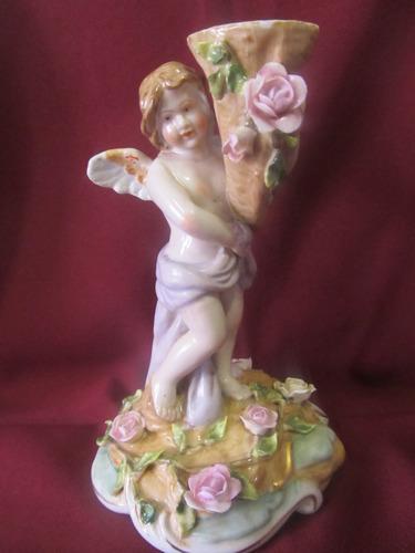 el arcon figura de porcelana meissen angel