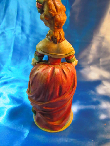 el arcon figura de porcelana para caja musical mujer 11577