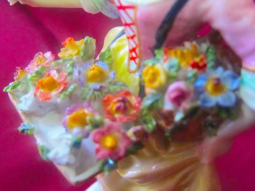 el arcon  figura de porcelana royal viena la florista 6006