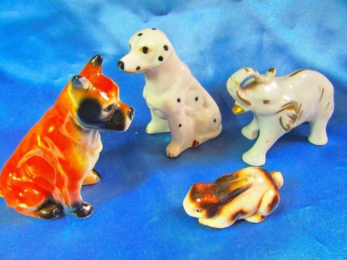 el arcon figuras de porcelana perros conejo elefante 22105