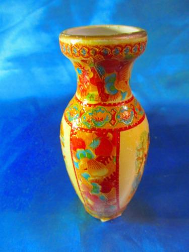 el arcon florero de porcelana estilo satzuma 16cm 2007