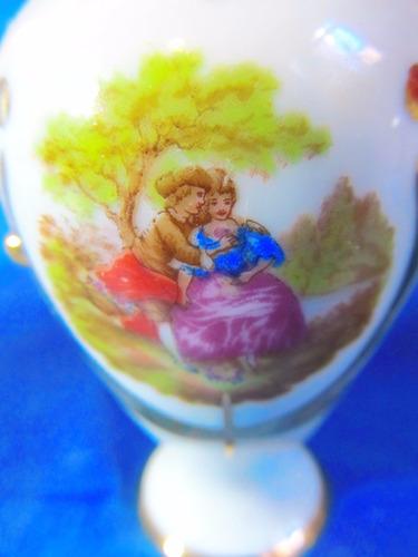 el arcon florero jarron porcelana limoges france 46509