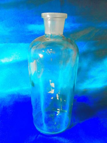 el arcon frasco de farmacia transparente grande de 24 cm 010