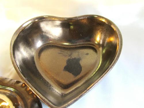 el arcon gran alhajero despojador de ceramica  corazon 15021