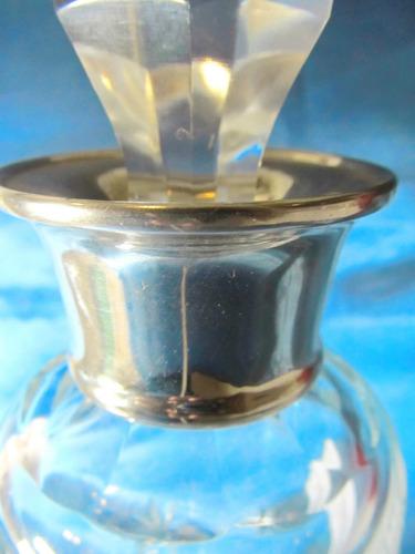 el arcon gran botellon de cristal goyete de metal 38cm 006