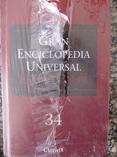 el arcon gran enciclopedia universal clarin - tomos 22 y 34