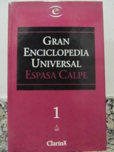 el arcon gran enciclopedia universal - espasa calpe - tomo 1