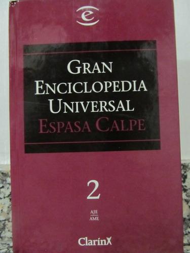 el arcon gran enciclopedia universal - espasa calpe - tomo 2