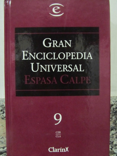 el arcon gran enciclopedia universal - espasa calpe - tomo 9