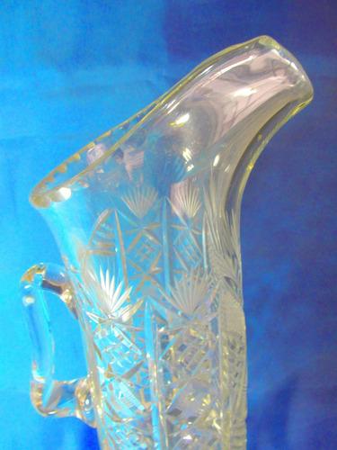 el arcon gran jarra servir vidrio prensado con asa 35cm 611
