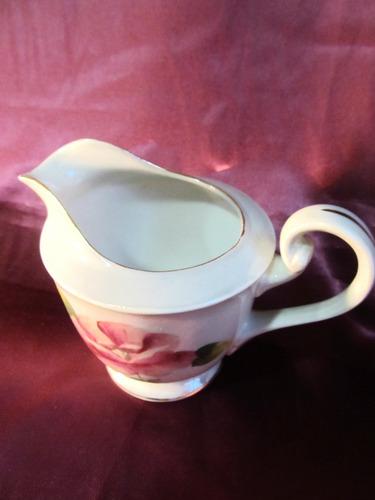 el arcon hermosa impecable lechera de porcelana tsuji 14005