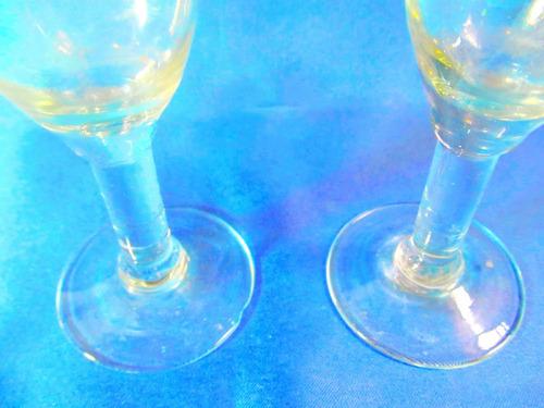 el arcon hermoso par de copas de cristal para champagne 027