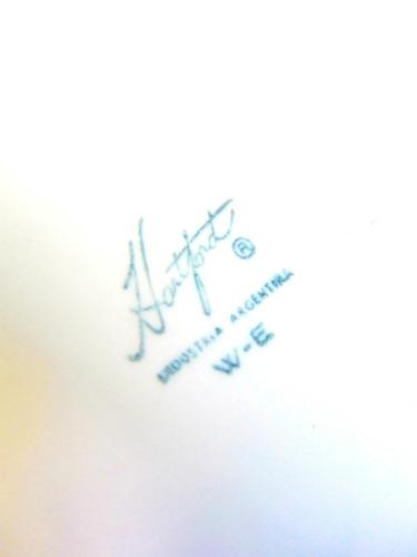 el arcon hermoso plato de porcelana hartford  16,5cm 10106