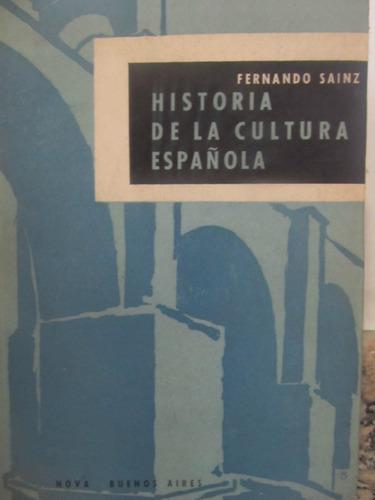 el arcon historia de la cultura española por fernando sainz