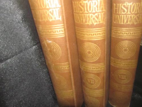 el arcon historia universal tomo vi, vii, vii
