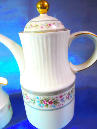 el arcon juego cafetera y lechera porcelana tsuji 6001