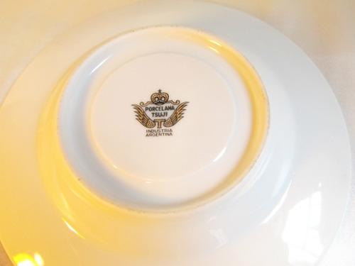 el arcon juego de 12 platos postre te masas tsuji 15cm 16007