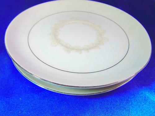 el arcon juego de 3 platos masas postre noritake  16cm 20128