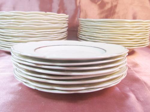 el arcon juego de 31 platos de porcelana j & g meakin 51500