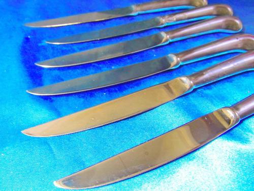 el arcon juego de 6 cuchillos acero japan  19053