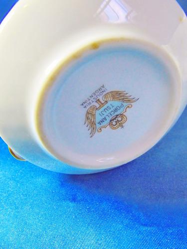 el arcon juego de azucarera y cremera porcelana tsuji 28118
